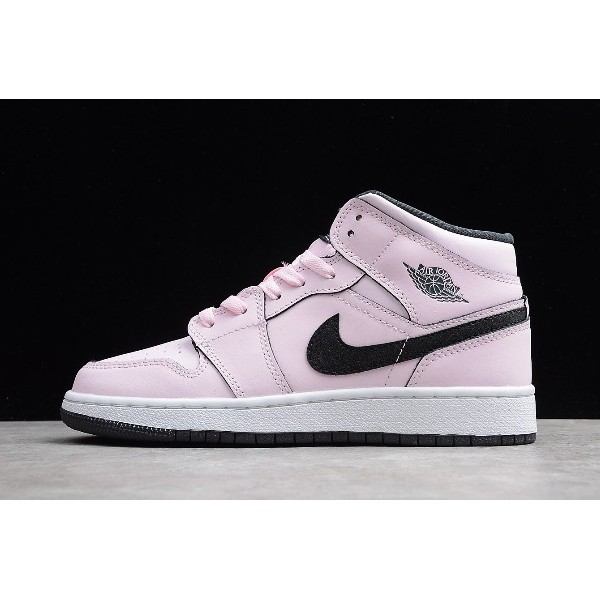 Women Air Jordan 1 Mid Pink Foam
