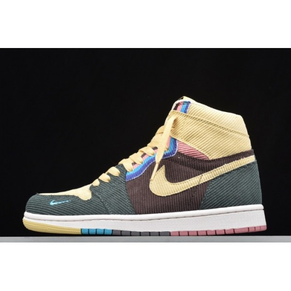 Men/Women Air Jordan 1 High AJ1 SW Sean Wotherspoon