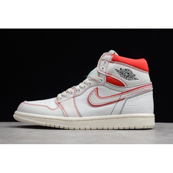Men/Women Air Jordan 1 Phantom Gym Red Sail Black Release