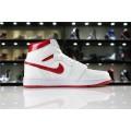 Men/Women Air Jordan 1 Retro High OG Metallic Red White Varsity Red