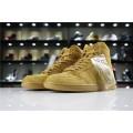 Men Air Jordan 1 Retro High OG Wheat Golden Harvest 555088-710