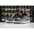 Men Air Jordan 1 Retro High Premium Shadow Camo Black Dark Stucco-White