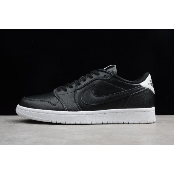 Men/Women Air Jordan 1 Retro Low OG Premium Cyber Monday Black White