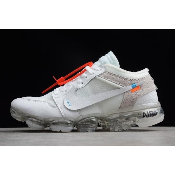 Men Off-White x Nike Air VaporMax x Air Jordan 1 High White
