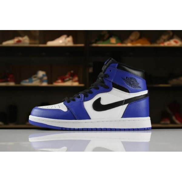 Men/Women Air Jordan 1 Retro High OG Game Royal 555088-403
