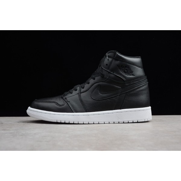 Men/Women New Air Jordan 1 High OG Cyber Monday Black White
