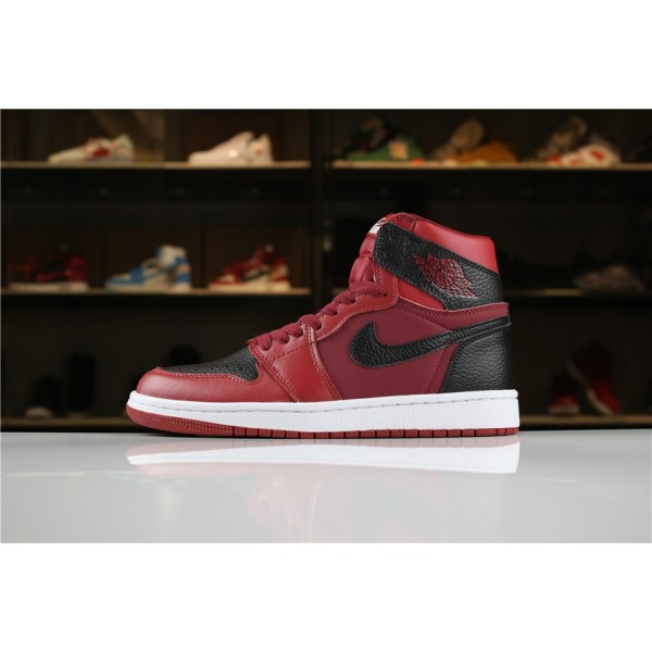 Men New Air Jordan 1 Mid Reverse Banned