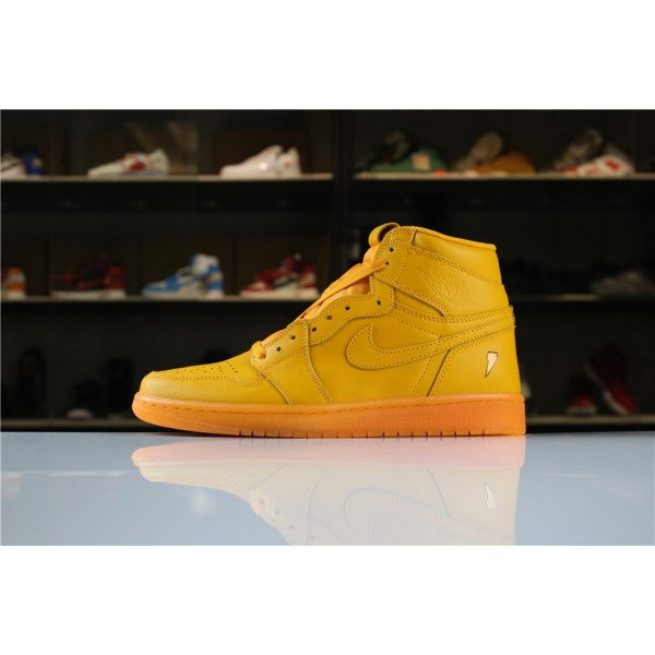 Men New Air Jordan 1 Retro High OG Gatorade Orange Peel