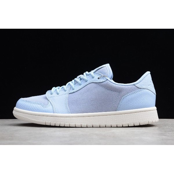 Men/Women Nike Air Jordan 1 Retro Low NS Royal Tint Phantom