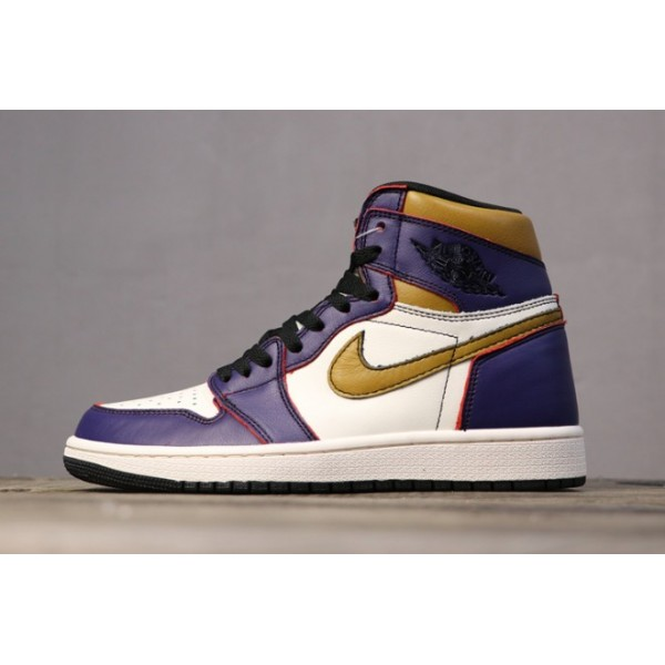 Men/Women Nike SB x Air Jordan 1 High OG Court Purple