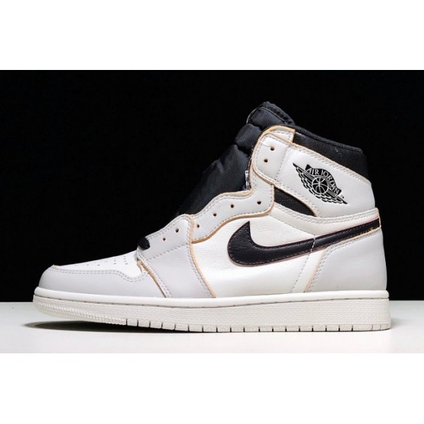 Men Nike SB x Air Jordan 1 Retro High OG Light Bone