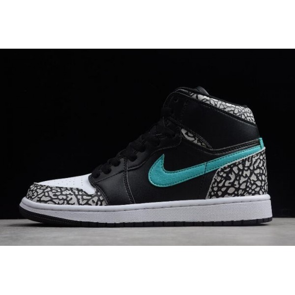 Men/Women The Shoe Surgeon x Air Jordan 1 Atmos Elephant Print