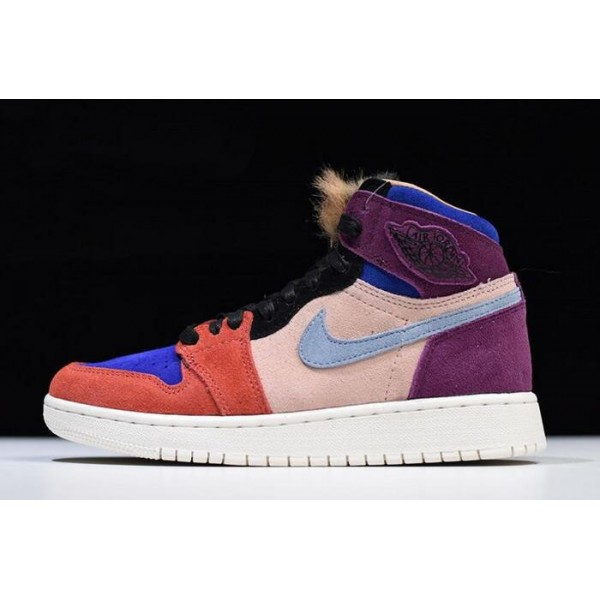 Women Air Jordan 1 Retro High OG Aleali May BV2613-600