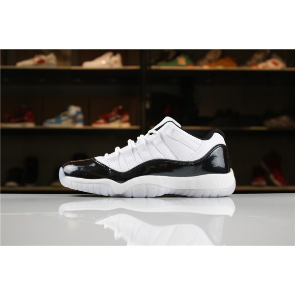 Men/Women Air Jordan 11 Low Easter White-Emerald Rise-Black