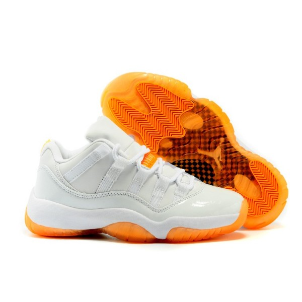 Men Nike Air Jordan 11 Retro Low Citrus 580521-139