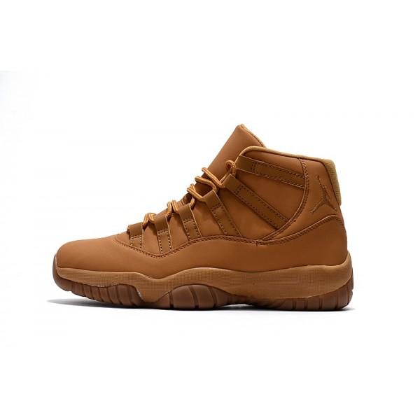Men New Air Jordan 11 Wheat Basketball Shoes