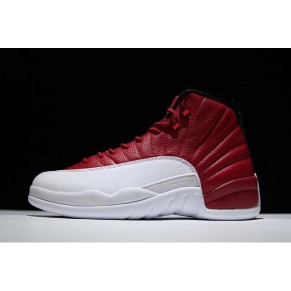 Men Air Jordan 12 Alternate Gym Red-Black-White