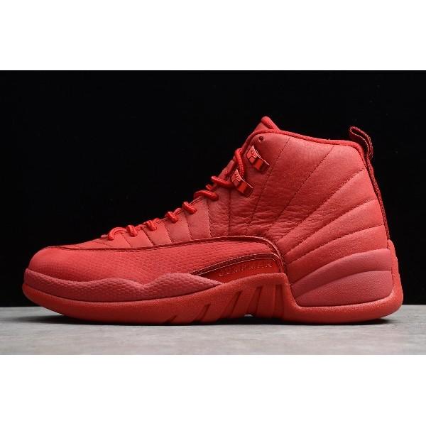 Men Air Jordan 12 Retro Gym Red
