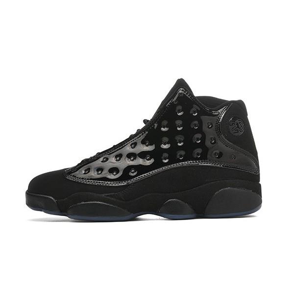 Men Air Jordan 13 Retro Cap and Gown Black