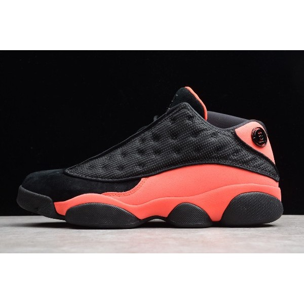 Men/Women CLOT x Air Jordan 13 Retro Low Black-Infrared 23