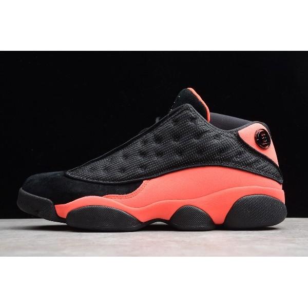 Men/Women CLOT x Air Jordan 13 Retro Low Black-Infrared 23