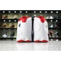 Men Air Jordan 13 History of Flight White-Metallic Red