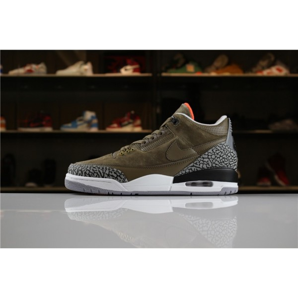 Men 2018 Air Jordan 3 JTH NRG Bio Beig