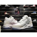 Men 2018 Air Jordan 3 Pure White White White-White