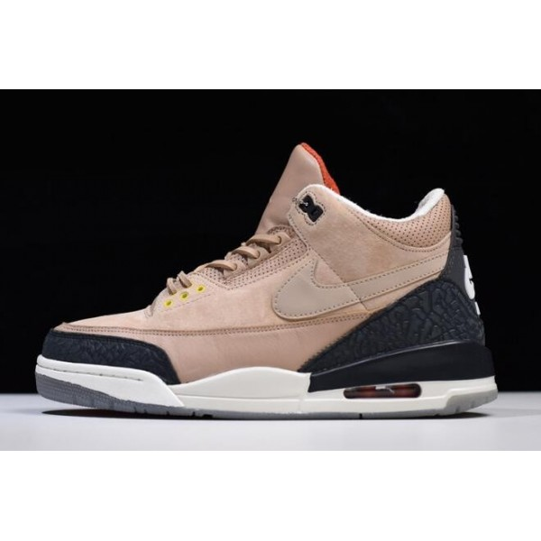 Men 2018 Air Jordan 3 Retro JTH NRG Bio Beige For