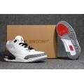 Men 2018 Off-White x Air Jordan 3 White Cement