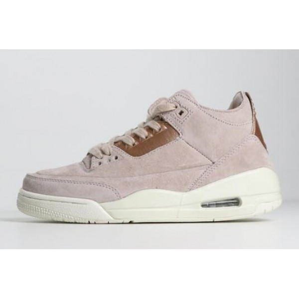 Women Air Jordan 3 Retro Particle Beige