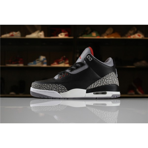 Men Air Jordan 3 Retro OG Black Cement 2018