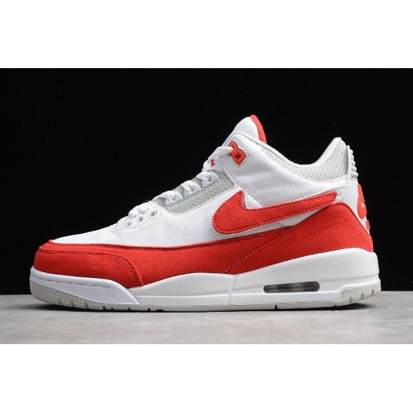 Men Air Jordan 3 Tinker Air Max 1 White Red