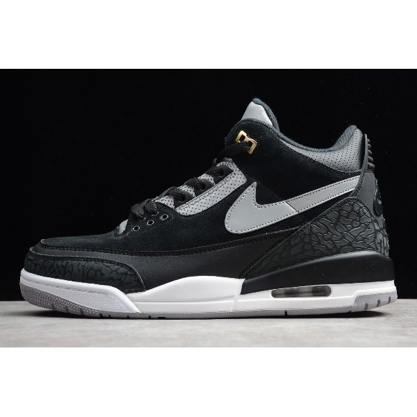 Men Mens Air Jordan 3 Tinker Black Cement