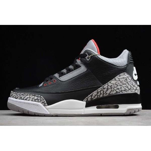 Men Mens Air Jordan 3 Retro Black Cement