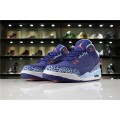 Women Air Jordan 3 Purple Dust Atomic Pink-Blue