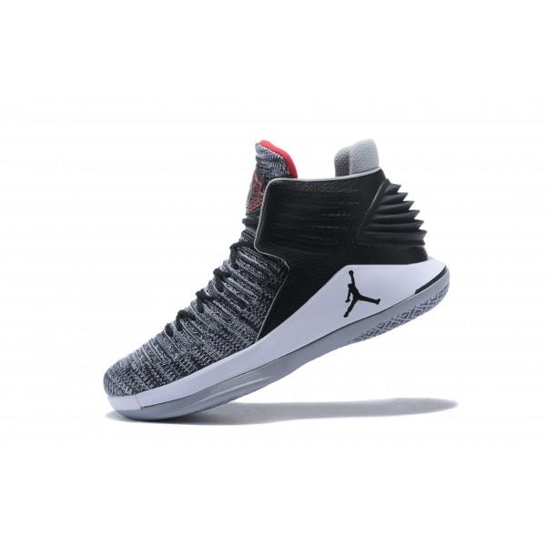 Men 2018 Air Jordan 32 MVP Black University Cement Grey