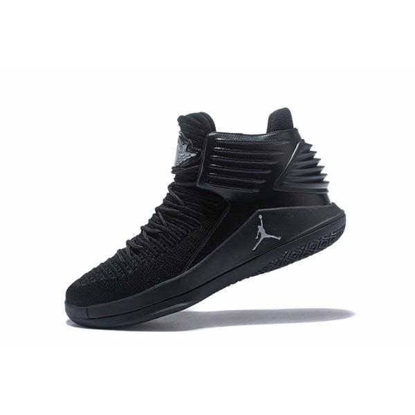 Men New Air Jordan 32 All Black