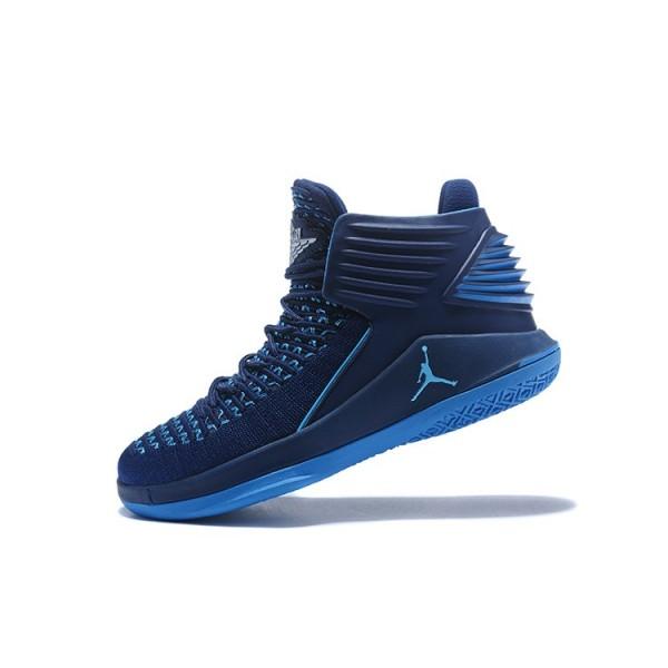 Men New Air Jordan 32 Midnight Navy Blue