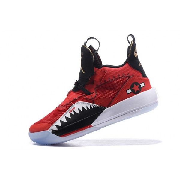 Men 2018 Air Jordan 33 Future of Flight Bright Red