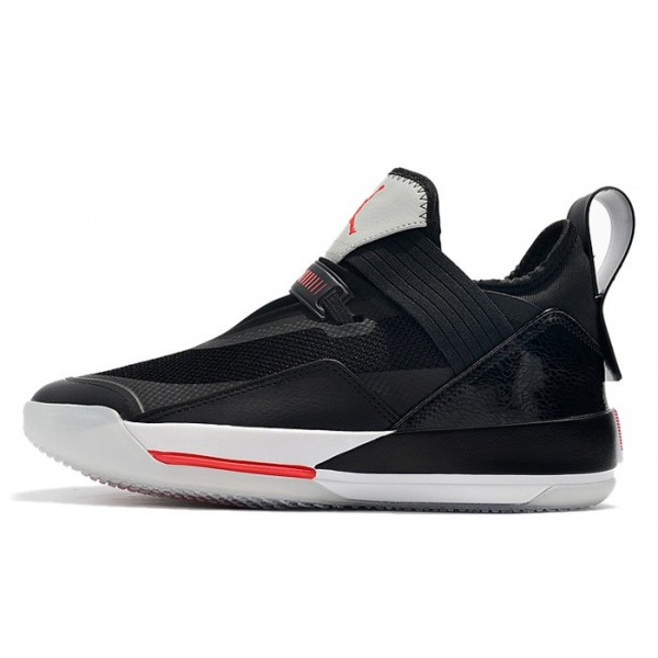 Men 2019 Air Jordan 33 Low Black Cement