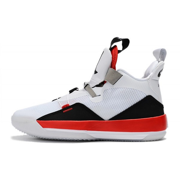 Men Air Jordan 33 Fire Red White-Fire Red-Black Price