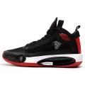 Men 2020 Air Jordan 34 Black-Varsity Red-White