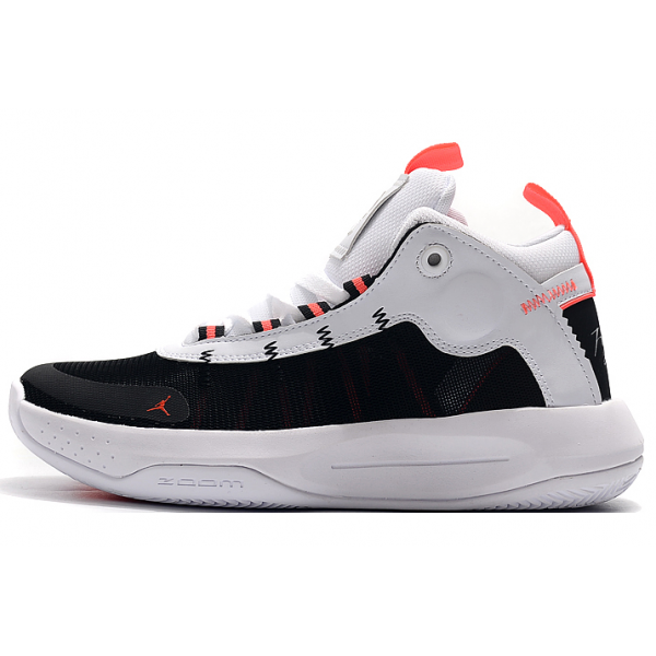 Men 2020 Air Jordan 34 Low White-Black-Pink