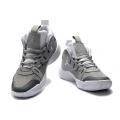 Men Air Jordan 34 Low Wolf Grey Shoes