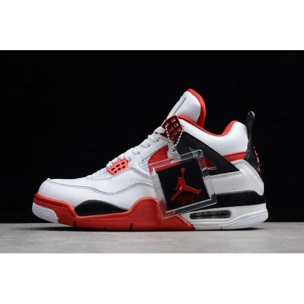 Men Mens Nike Air Jordan 4 Retro Fire Red