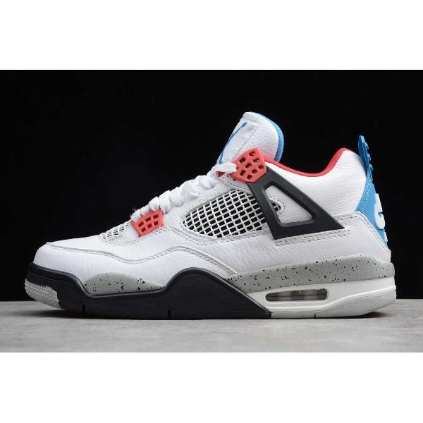 Men Air Jordan 4s Retro What The CI1184-146