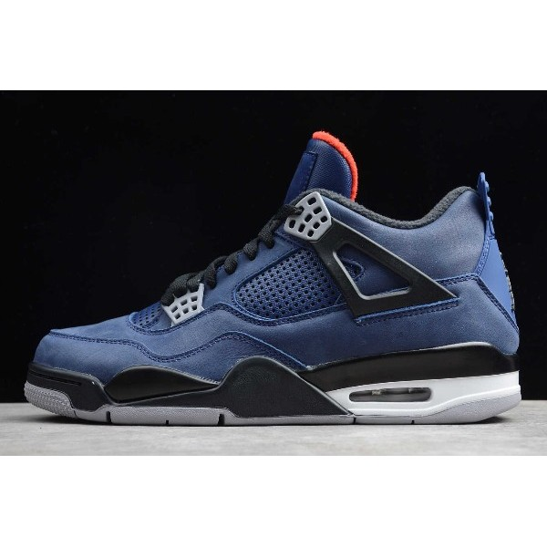 Men Air Jordan 4 WNTR Loyal Blue With Shoes Box CQ9597-401