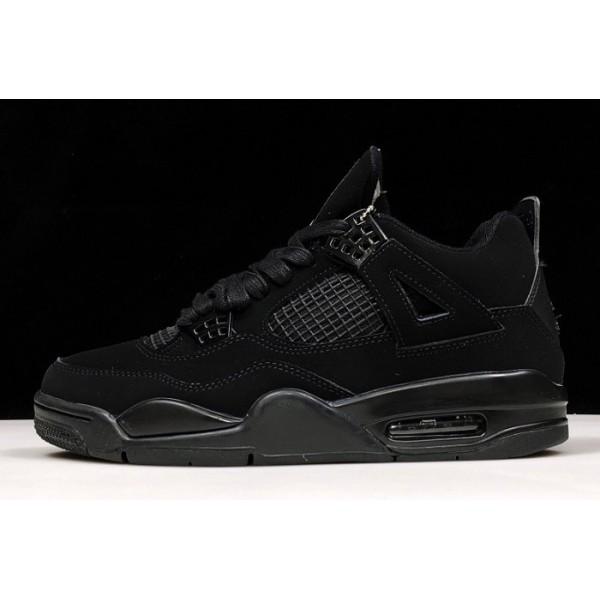 Men Air Jordan 4 Retro Black Cat