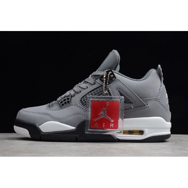 Men New Air Jordan 4 Retro Cool Grey To 308497-001